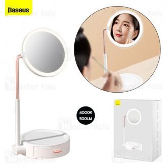 آینه آرایشی بیسوس Baseus Smart Beauty Series Lighted Makeup Mirror Storage Box DGZM-02 دارای LED
