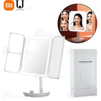 آینه آرایشی شیائومی Xiaomi Jordan And Judy NV536 LED Counter Vanity Mirror-Foldable دارای LED
