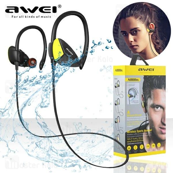 هندزفری بلوتوث اوی Awei A888BL Wireless Sports Earphone ضد آب IPX4
