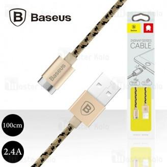 کابل مگنتی بیسوس Baseus Insnap Series Cable CAMCLH-ALFOP توان 2.4 آمپر