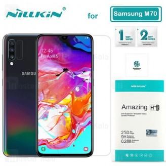 محافظ صفحه شیشه ای نیلکین سامسونگ Samsung Galaxy A70 / A705 Nillkin H+ Pro