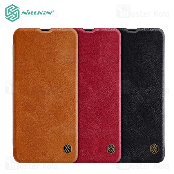کیف چرمی نیلکین سامسونگ Samsung Galaxy A70 / A705 Nillkin Qin Leather Case