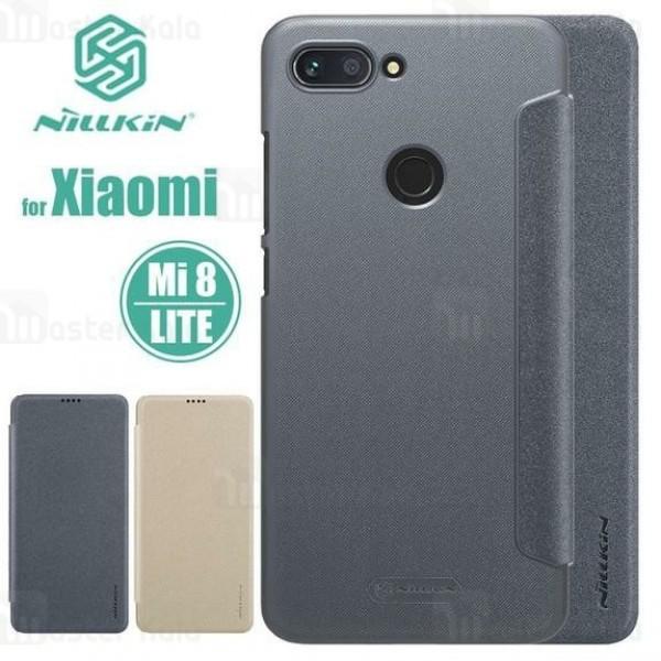 کیف کلاسوری نیلکین شیائومی Xiaomi Mi 8 Lite Nillkin Sparkle