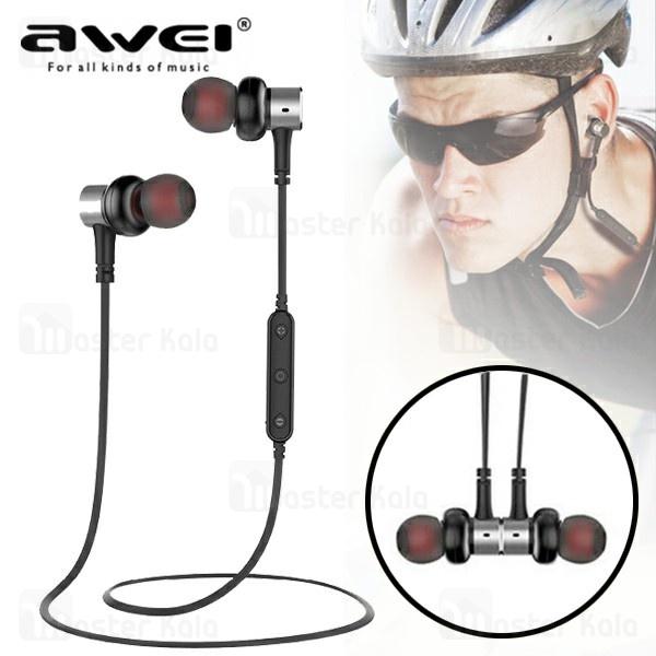هندزفری بلوتوث اوی Awei B923BL Wireless Sports Earphone گردنی و مگنتی