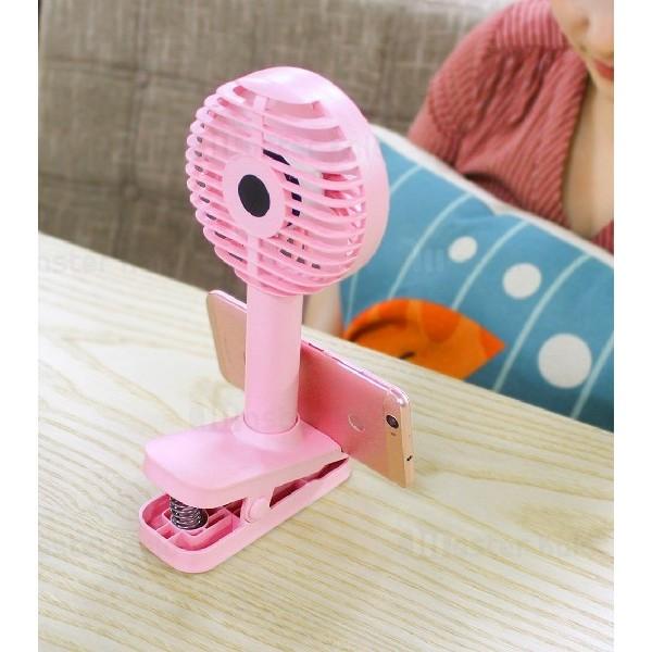 پنکه فانتزی چندکاره Awei F1 Handheld Fan 2 in 1 Holder