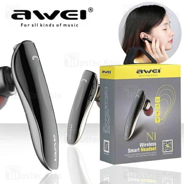 هندزفری بلوتوث تک گوش اوی Awei N1 Wireless Earphone