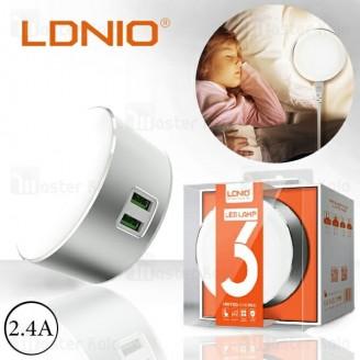 لامپ ال ای دی و شارژر الدینیو LDNIO A2208