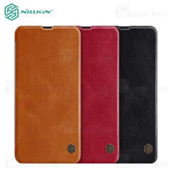 کیف چرمی نیلکین سامسونگ Samsung Galaxy A20 Nillkin Qin Leather Case