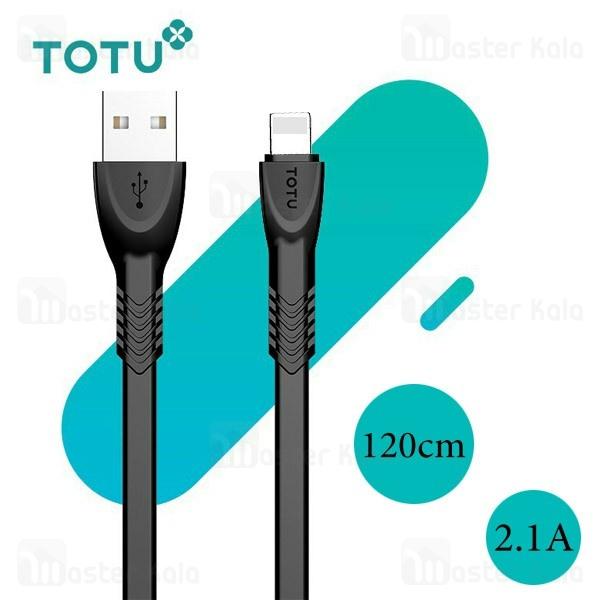 کابل لایتنینگ توتو TOTU BLA-033 Data Cable طول 1.2 متر با توان 2.1 آمپر