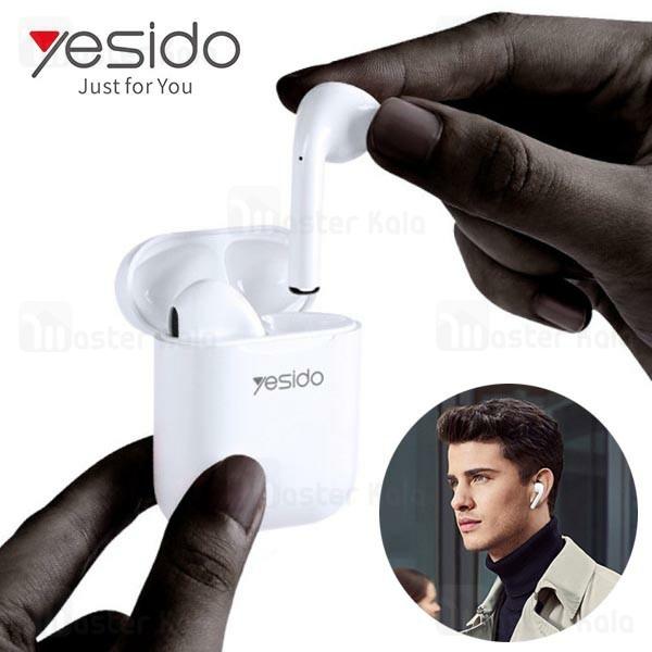 هدست بلوتوث دوتایی یسیدو Yesido TWS02 Original مناسب آیفون و اندروید