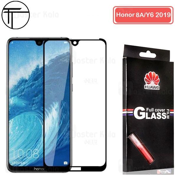 محافظ صفحه شیشه ای تمام صفحه تمام چسب TT هواوی Huawei Y6 2019 / Honor 8A / Y6 Prime 2019 / Y6 Pro
