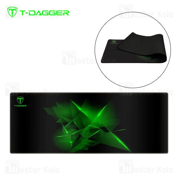 موس پد گیمینگ T-Dagger Geometry T-TMP301 Gaming Mouse Pad سایز بزرگ