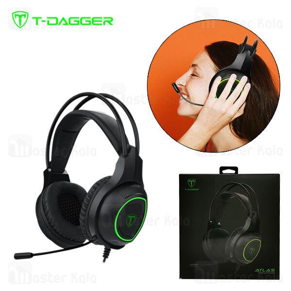 هدفون سیمی گیمینگ T-Dagger Altas T-RGH201 Gaming Headset