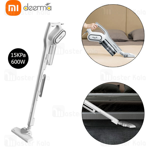 جارو برقی شیائومی Xiaomi Deerma DX700 2 in 1 Vertical Handheld Vacuum Cleaner توان 600 وات...