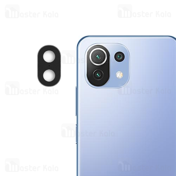 محافظ لنز فلزی دوربین موبایل شیائومی Xiaomi Mi 11 Lite / Mi 11 Lite 5G Metal Lens