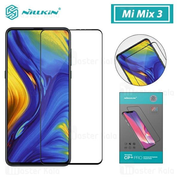 محافظ صفحه شیشه ای تمام صفحه نیلکین شیائومی Xiaomi Mi Mix 3 Nillkin CP+ Pro Glass