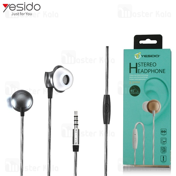هندزفری سیمی یسیدو Yesido YH-04 Stereo Headphone