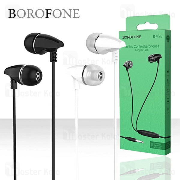 هندزفری سیمی بروفون BOROFONE BM25 Universal wired Handsfree