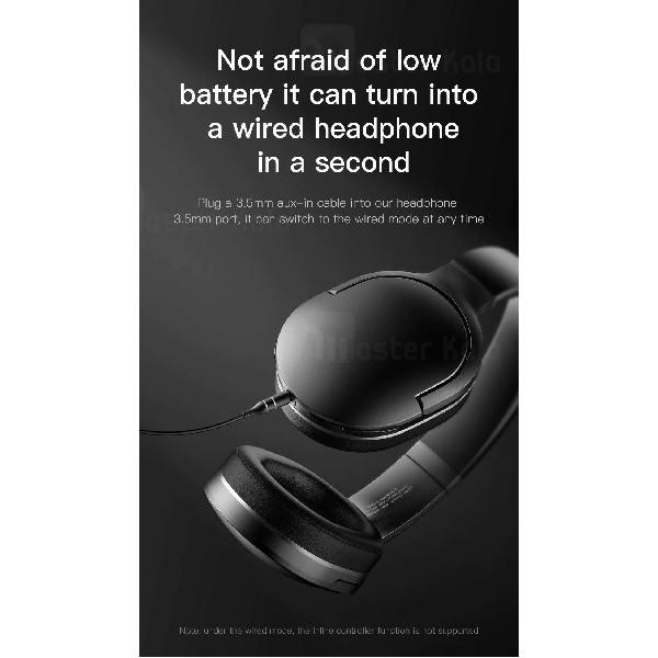 هدفون بلوتوث بیسوس Baseus D02 Encok Wireless Bluetooth Headphone