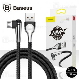 کابل میکرو یو اس بی بیسوس Baseus sharp-bird cable CAMMVP-E01 توان 2.4 آمپر