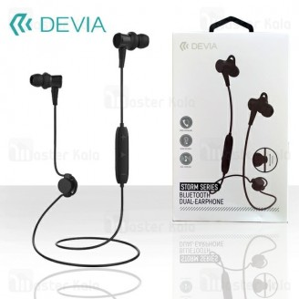 هندزفری بلوتوث دیویا DEVIA EM033 Storm Bluetooth Earphone طراحی مگنتی