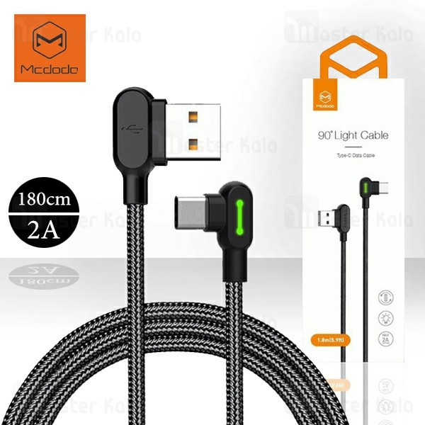 کابل Type C مک دودو Mcdodo CA-528 Data Cable توان 2 آمپر و طول 1.8 متر