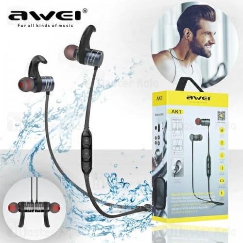 2f58c624271 هندزفری بلوتوث اوی AWEI AK1 Wireless Headset طراحی گردنی | مسترکالا