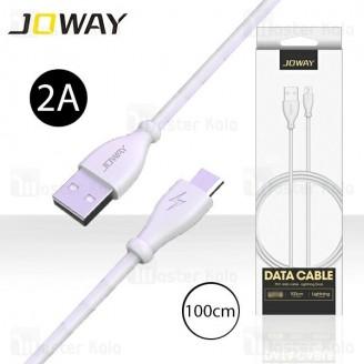 کابل میکرو یو اس بی جووی Joway LM118 Data Cable با توان 2 آمپر و طول 1 متر