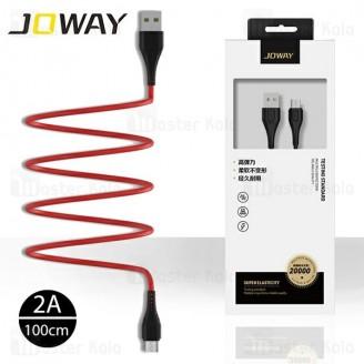کابل میکرو یو اس بی جووی Joway LM133 Data Cable با توان 2 آمپر و طول 1 متر