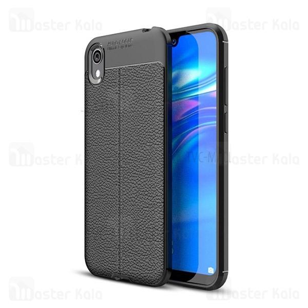 قاب محافظ ژله ای طرح چرم هواوی Huawei Y5 2019 / Y5 Prime 2019 / Honor 8s Auto Focus