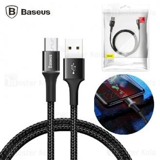 کابل میکرو یو اس بی بیسوس Baseus Halo CAMGH-C01 Micro USB توان 2 آمپر و طول 2 متر