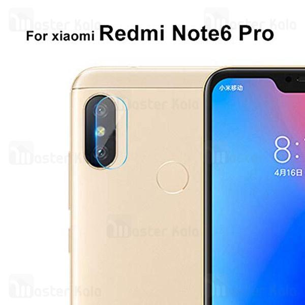 محافظ لنز دوربین شیشه ای موبایل شیائومی Xiaomi Redmi Note 6 Pro
