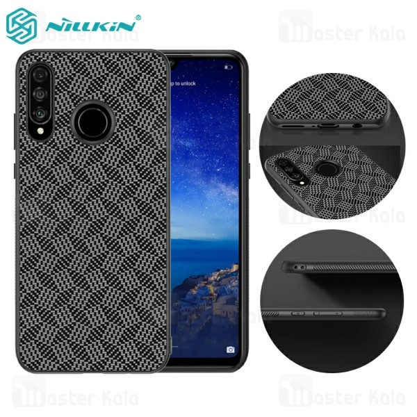 قاب فیبر کربنی نیلکین هواوی Huawei P30 Lite / Nova 4e Nillkin Synthetic Fiber Plaid