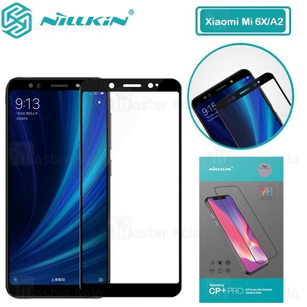 محافظ صفحه شیشه ای تمام صفحه تمام چسب نیلکین شیائومی Xiaomi Mi A2 / 6X Nillkin CP+ Pro