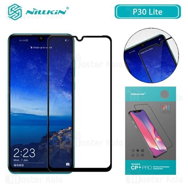 محافظ صفحه شیشه ای تمام صفحه تمام چسب نیلکین Huawei P30 Lite / Nova 4e Nillkin CP+ Pro