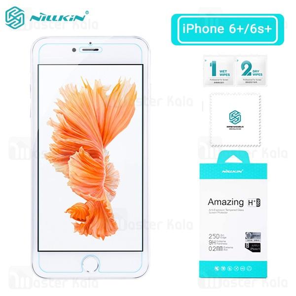 محافظ صفحه شیشه ای نیلکین اپل آیفون Apple iPhone 6 Plus / 6S Plus Nillkin H+ Pro