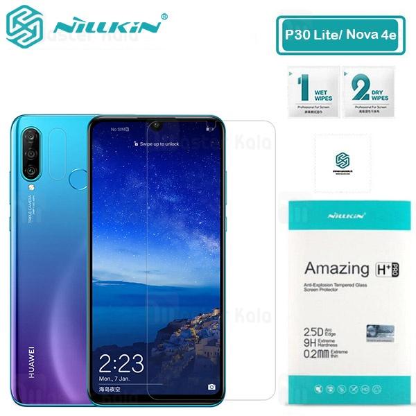 محافظ صفحه شیشه ای نیلکین هواوی Huawei P30 Lite / Nova 4e Nillkin H+ Pro