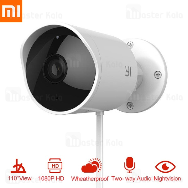 دوربین نظارتی هوشمند شیائومی Xiaomi Yi Outdoor Security Camera YHS.3017 نسخه گلوبال