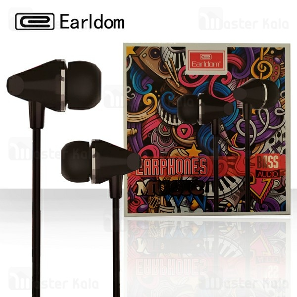 هندزفری سیمی ارلدام Earldom ET-E12 Bass Audio Earphone
