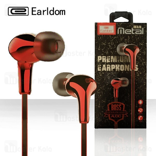 هندزفری سیمی ارلدام Earldom ET-E13 Metal Men Bass Earphone