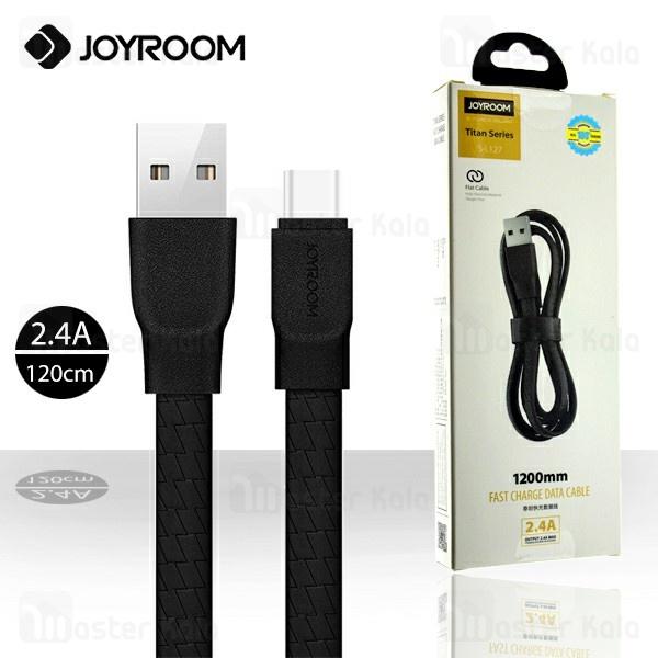 کابل Type C جویروم Joyroom S-L127 Titan Data Cable با توان 2.4 آمپر