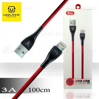 کابل لایتنینگ Ueelr my X135 Data Cable توان 3 آمپر و طول 1 متر