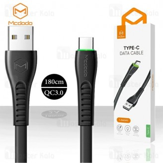 کابل Type C فست شارژ مک دودو Mcdodo CA-643 QC3.0 Data Cable طول 1.8 متر