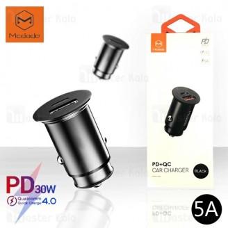 شارژر فندکی فست شارژ مک دودو Mcdodo CC-6560 QC4.0 توان 5 آمپر با پورت Type C