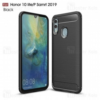 قاب محافظ ژله ای هواوی Huawei P Smart 2019 / Honor 10 Lite Fiber Carbon Rugged Armor
