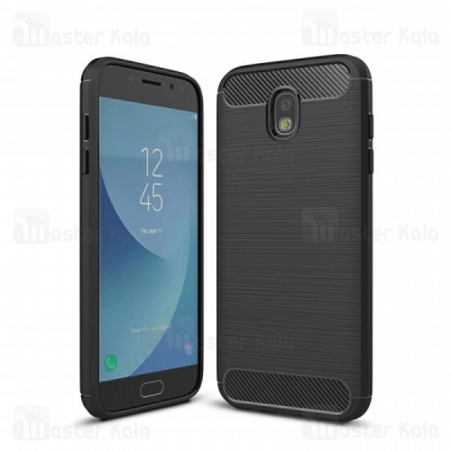 قاب محافظ ژله ای سامسونگ Samsung Galaxy J7 Pro / J7 2017 Fiber Carbon Rugged Armor