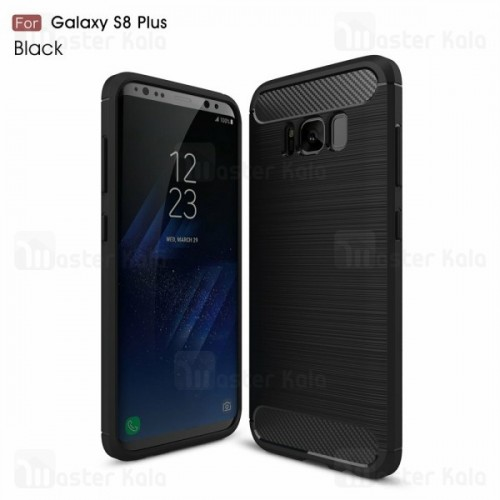 قاب محافظ ژله ای سامسونگ Samsung Galaxy S8 Plus Fiber Carbon Rugged Armor