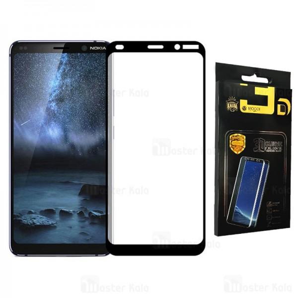 محافظ صفحه شیشه ای تمام صفحه تمام چسب نوکیا Nokia 9 PureView Mocol Glass