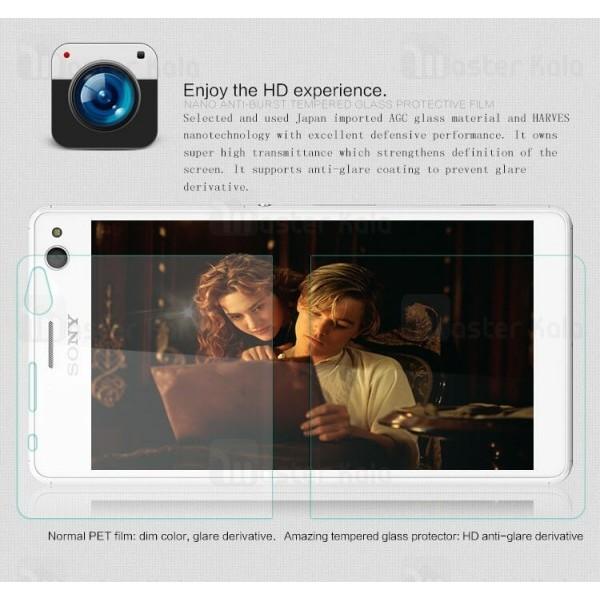 محافظ صفحه نمایش شیشه ای نیلکین سونی Sony Xperia C4 Nillkin H Plus Glass