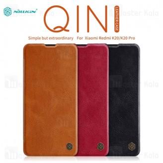 کیف چرمی نیلکین شیائومی Xiaomi Redmi K20 / K20 Pro / Mi9T / Mi9T Pro Nillkin Qin Leather Case